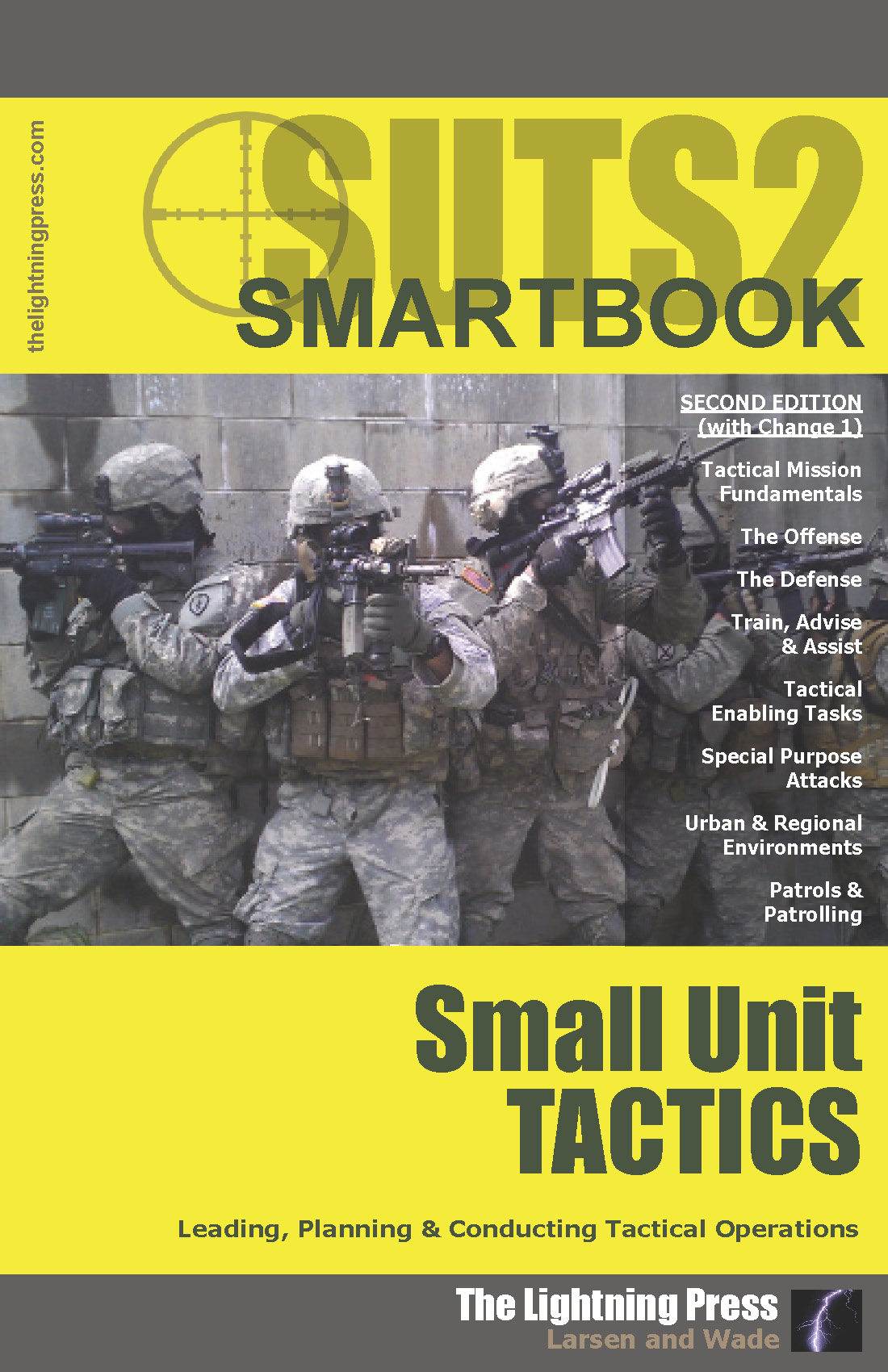 SUTS2: The Small Unit Tactics SMARTbook, 2nd Ed  (w/Change 1)