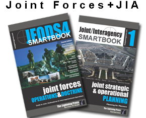 The 'JOINT FORCES + JOINT/INTERAGENCY' SMARTset (2 books)