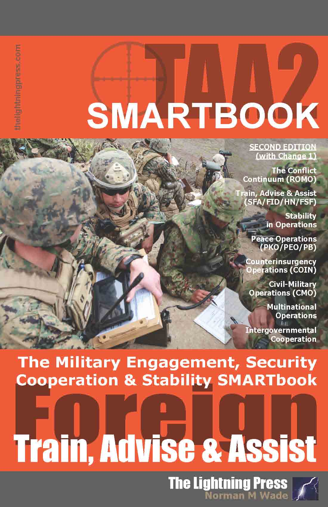 TAA2: The Military Engagement, Security Cooperation & Stability SMARTbook, 2nd Ed. (w/Change 1)