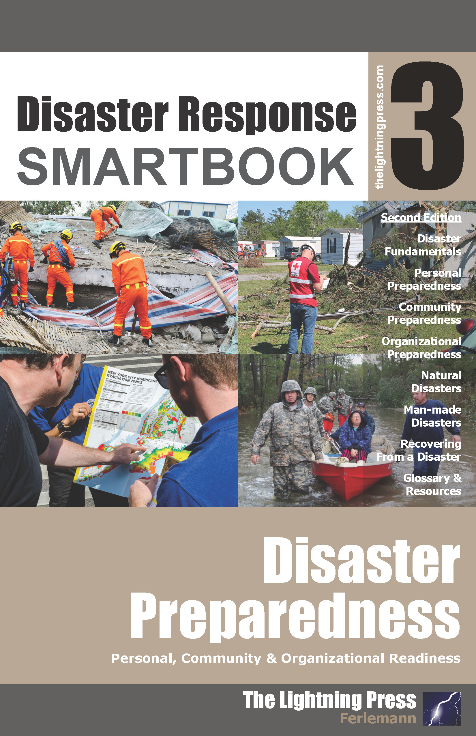Disaster Response SMARTbook 3 - Disaster Preparedness, 2nd Ed.