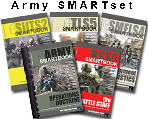 The ''ARMY'' SMARTset (5 books)