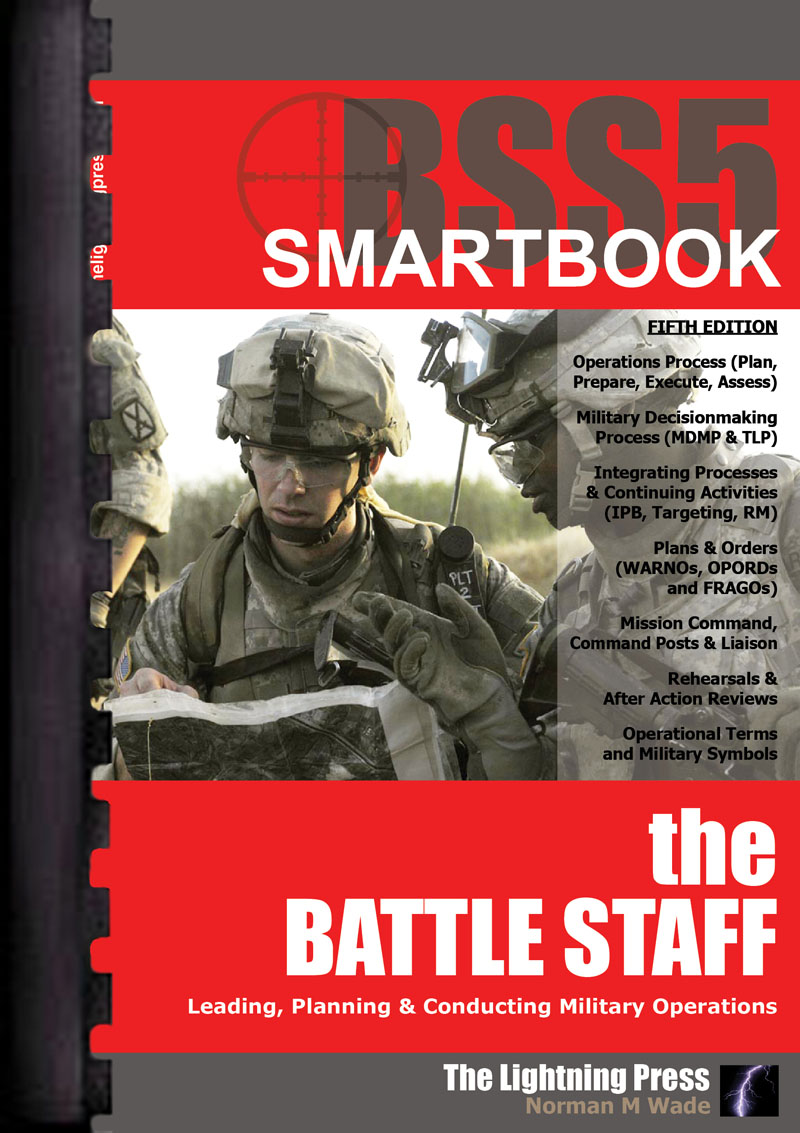 BSS5: The Battle Staff SMARTbook, 5th Ed. (Plastic-Comb)