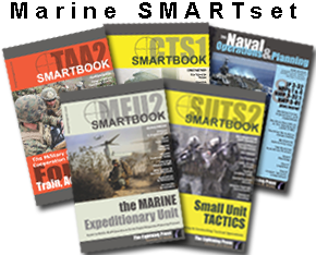 The ''MARINE'' SMARTset (5 books)