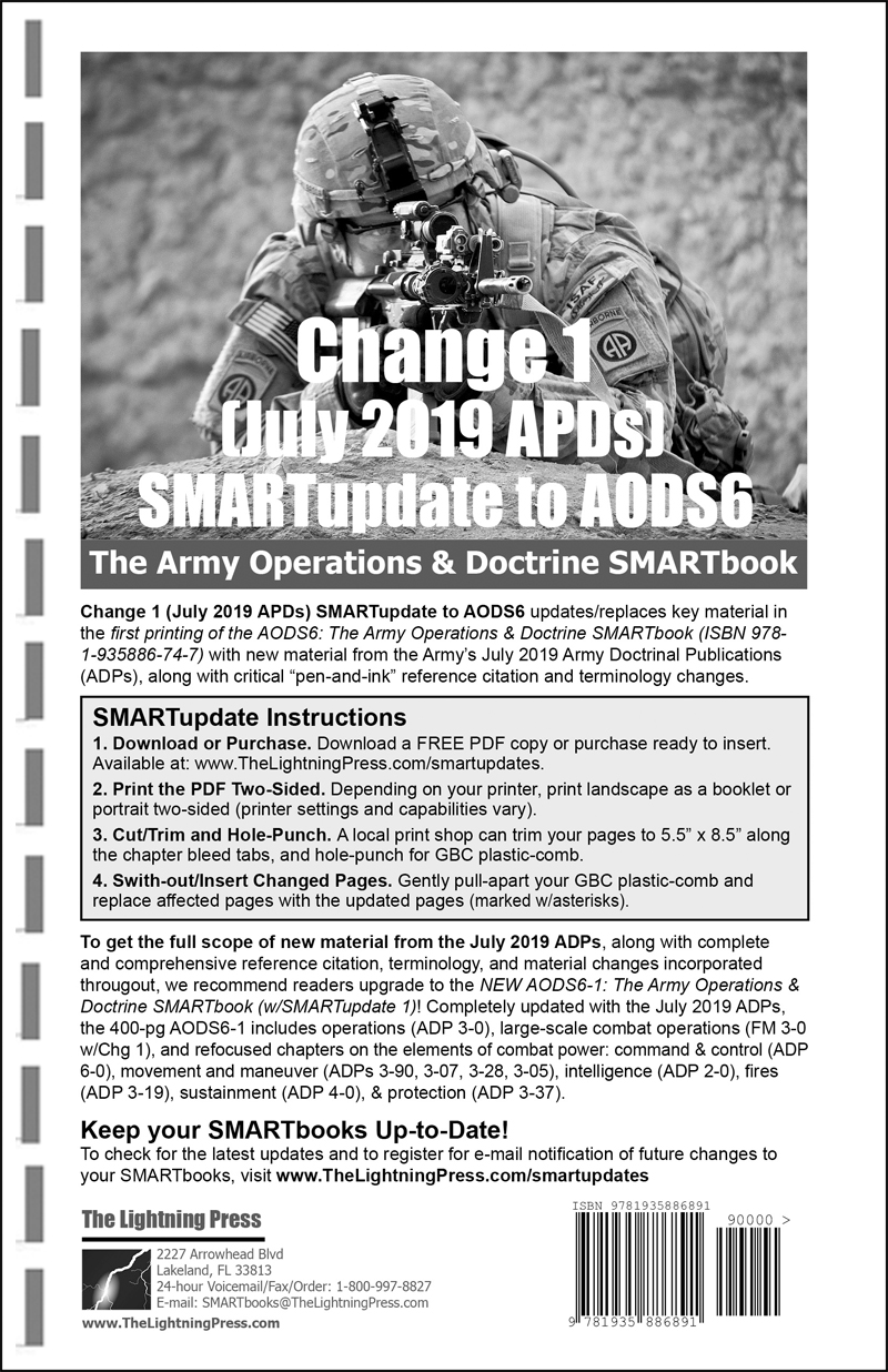 Change 1 (July 2019 ADPs) SMARTupdate to AODS6