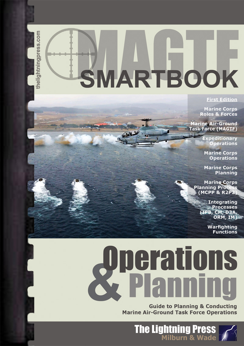 MAGTF: The MAGTF Operations &  Planning SMARTbook